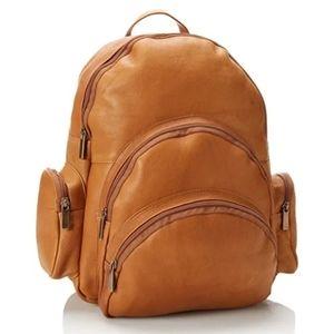 David King & Co. Full Grain Leather Backpack